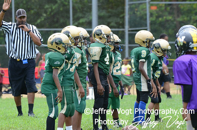 08-10-2013 Montgomery Village Sports Association Chiefs Mighty Mites vs Spirit of Faith Warriors, Photos by Jeffrey Vogt Photography