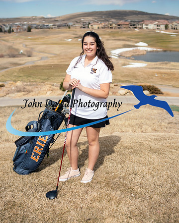 2019 EHS Girls Golf Individual Pictures