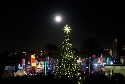 Christmas Tree Lighting  - Hermosa Beach Pier