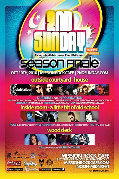 2nd Sunday @ Kelly Mission Rock 10.10.10