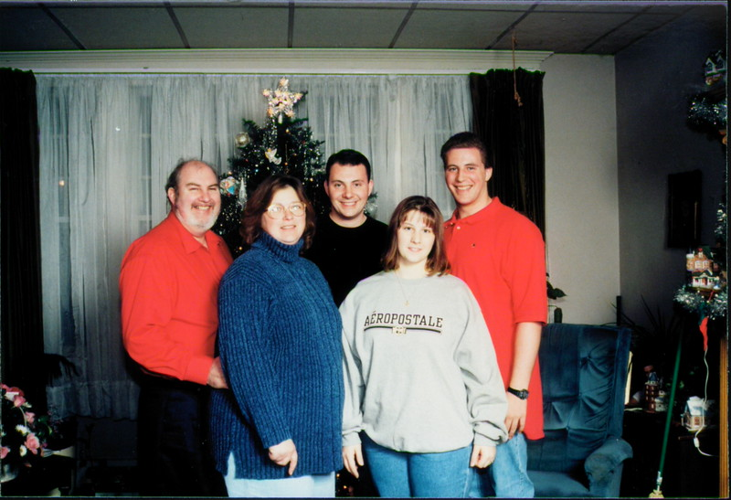 The Knotts Family, Anthony, Jeanette, Marcus Stephanie, Kris