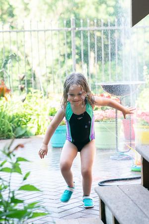 Water Sprinkler Fun