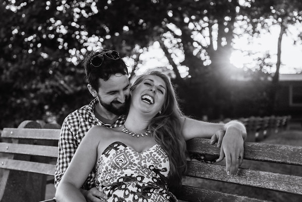 Alexis & Kevin's Marblehead Engagement Session
