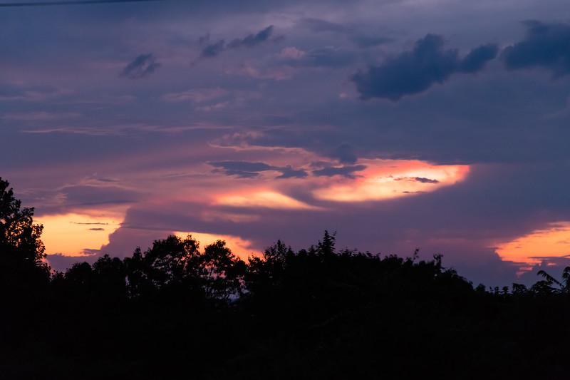 Colorful Sunset at UACNJ