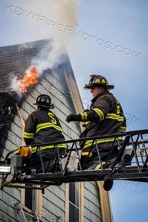 3 Alarm Structure Fire - 11 Teele Ave, Somerville, MA - 5/5/18