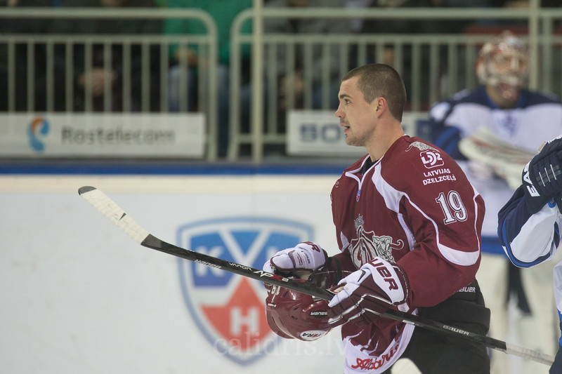 Mikelis Redlihs (19) of Dinamo Riga