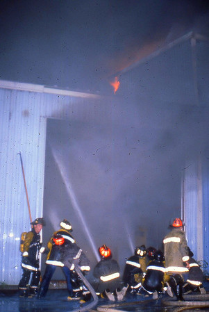 Randolph, High St Moving Co, 3rd Alarm June 1980