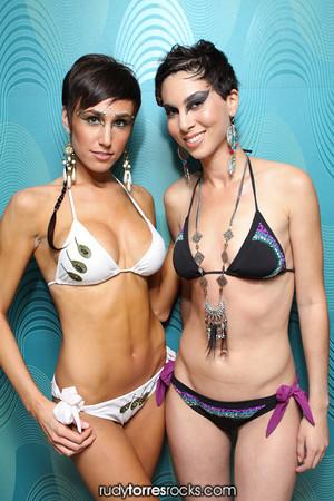 B. ViKa & Jadestone Swimwear Show at INDUSTRY 8.27.2010