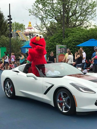 Sesame Place Parade  4/29/2017