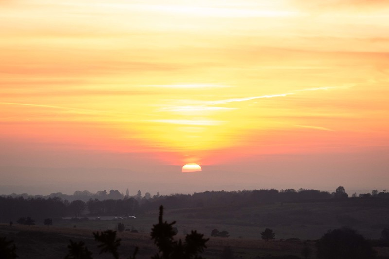2019 - Ashdown Forest sunset 008