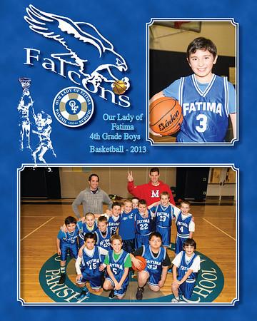 4th Boys hoops 2013