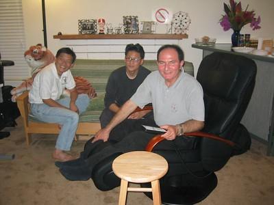 2003.08.07, Thursday - Moe's Birthday @ Jenny & Brian Chiang's