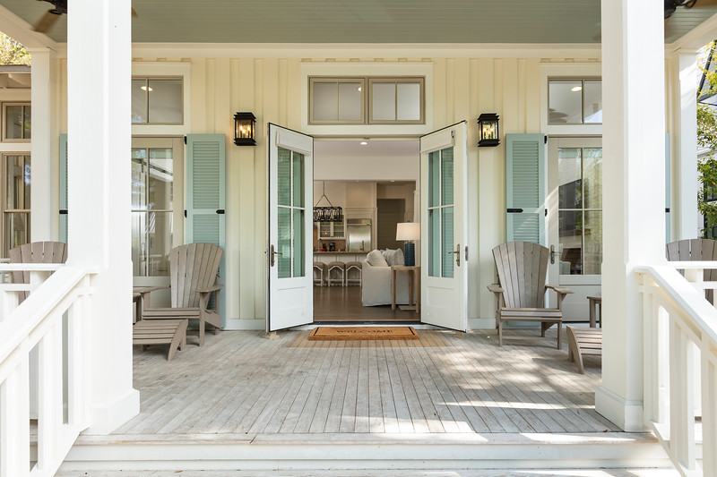 Front Entry; Watercolor Resort, Seaside, Florida, United States