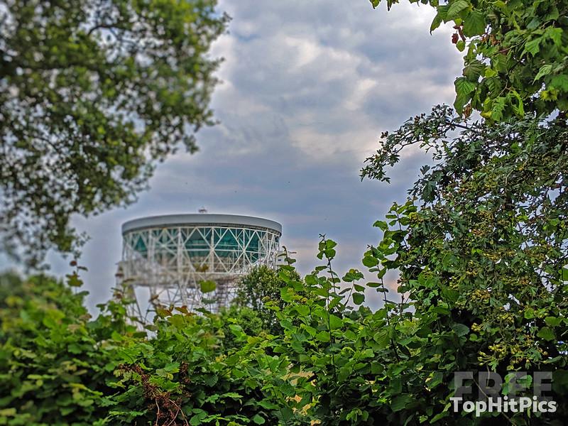 Jodrell Bank Unesco World Heritage Site, England