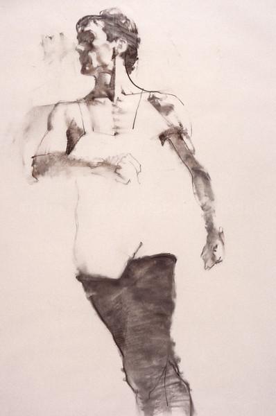 Study for 'Black Legs' (c1980s)