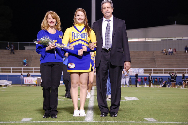 Senior Night-Football/Cheer Pix