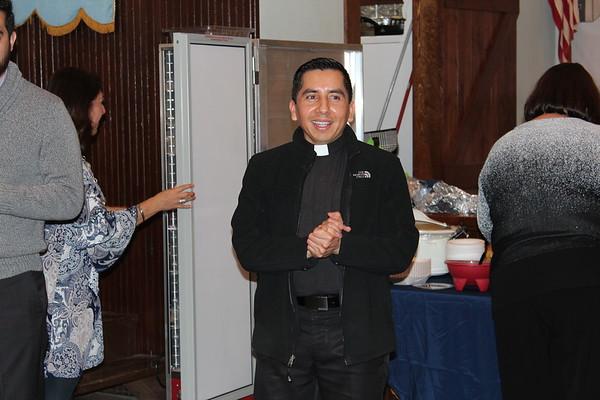 Fr. Servando  birthday party