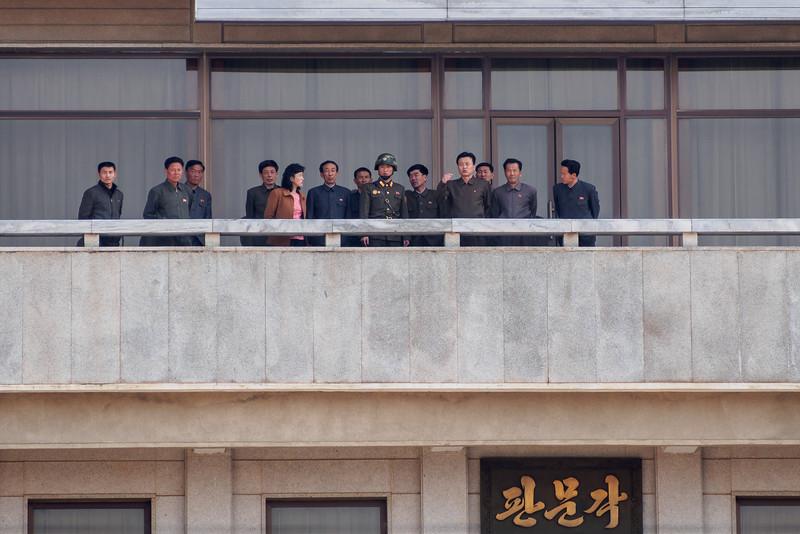 A rare North Korean tour group