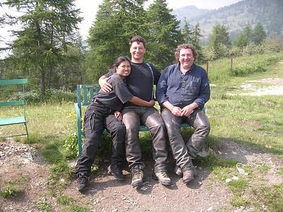 Colle Birrone : Jit, Harald & Big Mike
