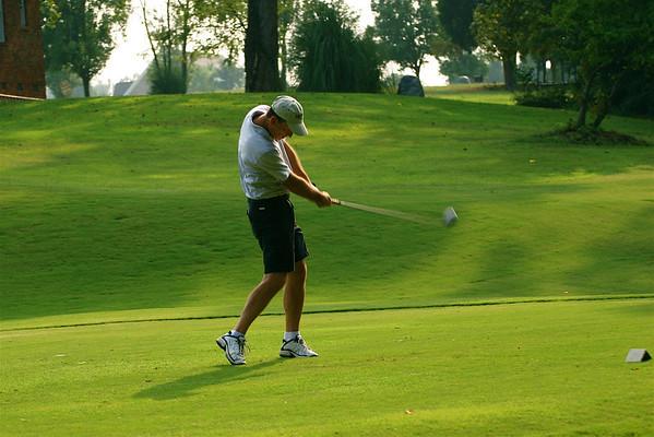 Golfing In August Heat