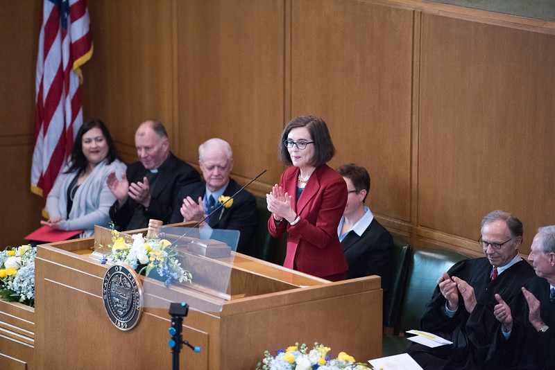 Inauguration Kate Brown
