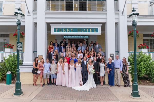 Lisa + Scott Perry Hotel Wedding Photography