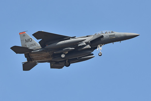 F-15 Eagles of the  366th Fighter Wing