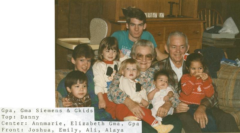Ruben and Frankie and grandkids