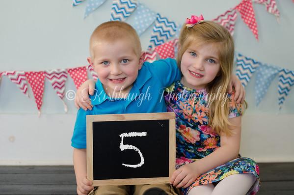 Brycyn & Brynleigh • 5 Years Old
