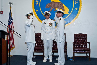 Change of Command - NOSC Sacramento