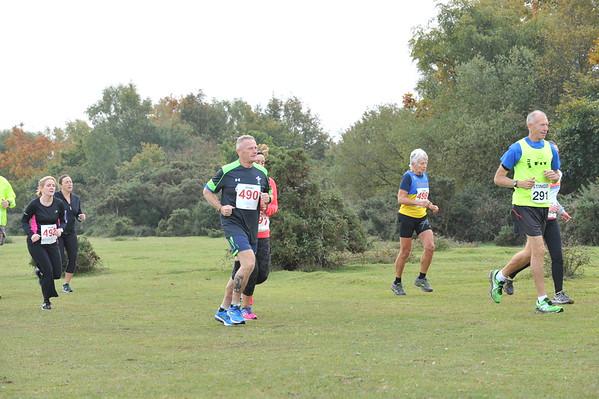 Totton Stinger 5 & 10 miles - 18/10/15
