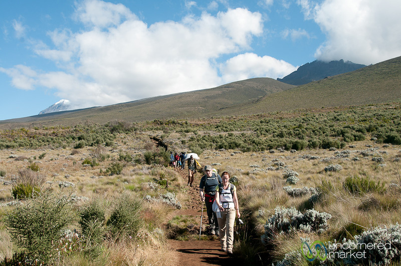 Going Down Mt. Kilimanjaro - Tanzania