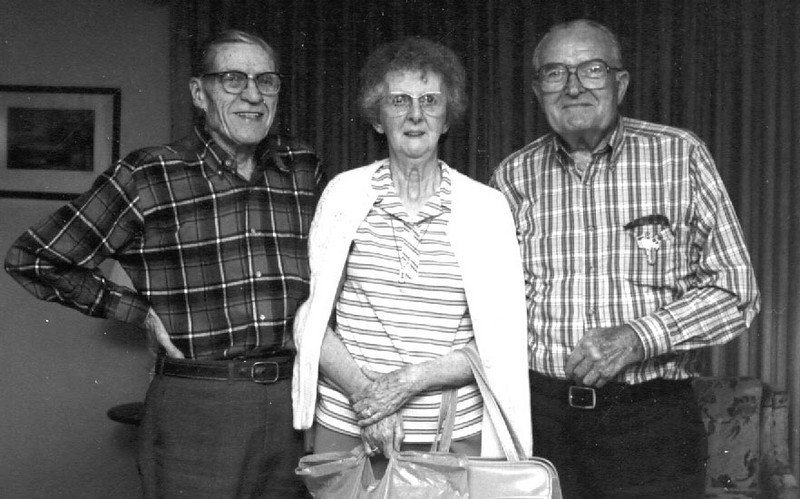 Carl, Maureen & Glenn Foote