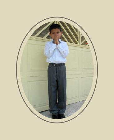 Primera comunion Brandon