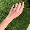 1.11ct Old European Cut Diamond Filigree Ring 11