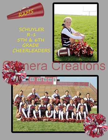 5th & 6th Grade Cheerleaders