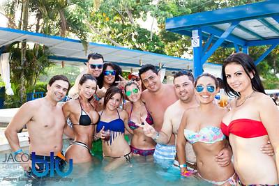 Sunday Pool Party at Jaco Blu April 20, 2014