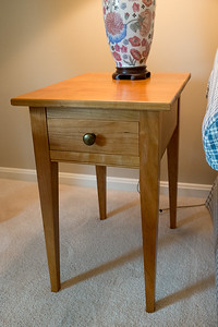 2 Small  Cherry Shaker Tables