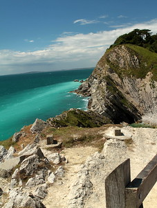 Lulworth Cove  and Castle, Durdle Door, Bournmouth Sea Front