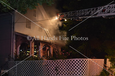 20130813 - Huntington Manor - House Fire
