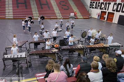 Cuthbertson High School - 2018 Indoor Drumline
