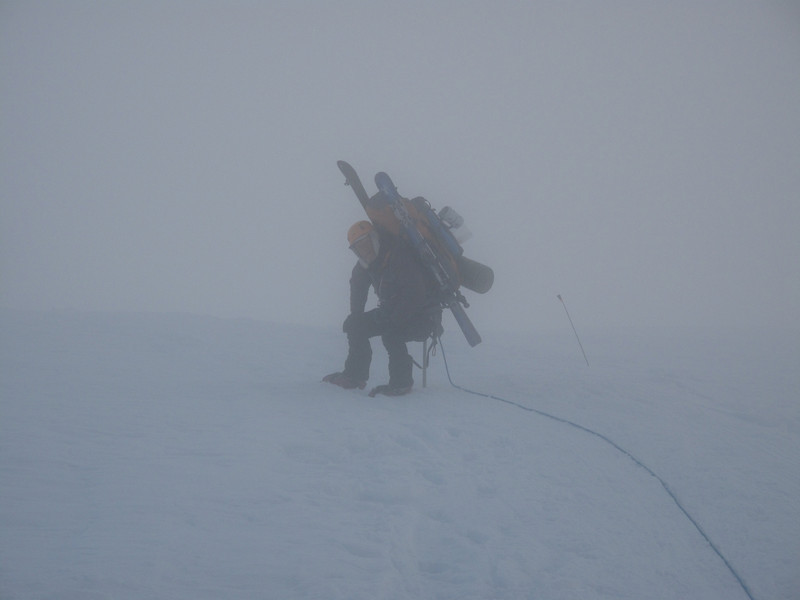 Approaching C1 (7,800 ft = 2.377m)...