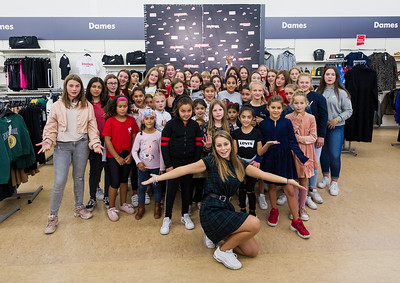 Steffi Mercie at Bristol store Lokeren 2019