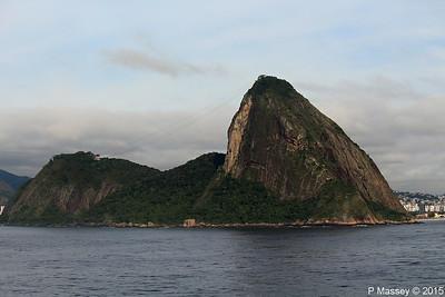 Views of Rio de Janeiro Arr/Dep from MSC POESIA 9 Dec 2015
