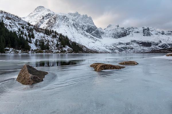 Lofoten - The coast of Norway in winter