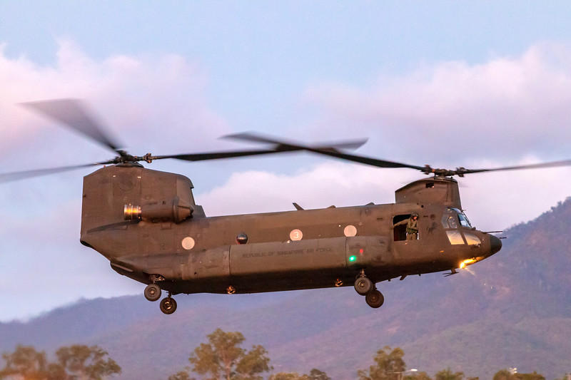 Exercise Wallaby 2018 - CH-47D Chinooks