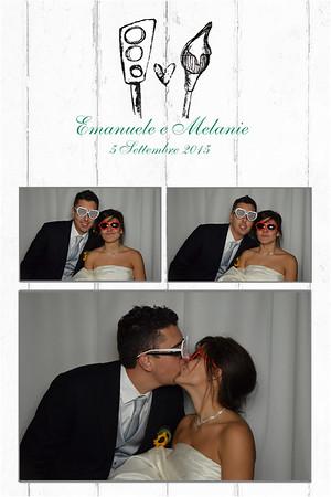 Matrimonio Melanie ed Emanuele 5 Settembre 2015 - Villa Paradeisos Varese