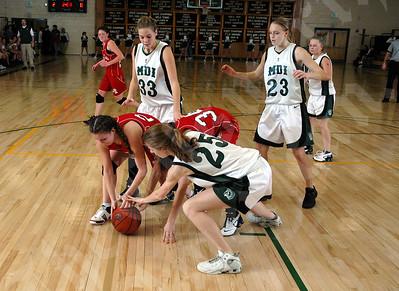 MDI Girls Vs. Central- December 2007
