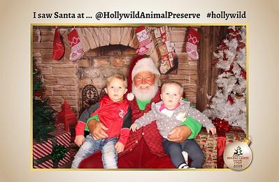 Hollywild Santa Photos - 120319