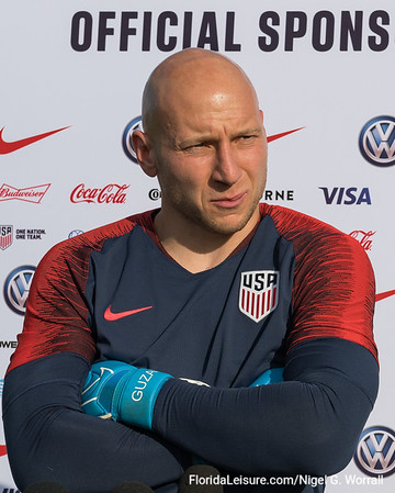 US Men's National Soccer Team training - 11 November 2019